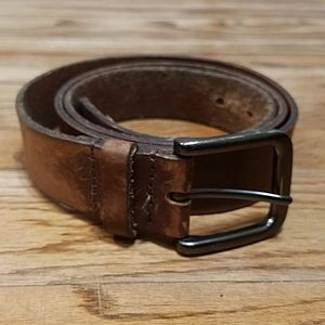 Timberland brown genuine leather belt size 40